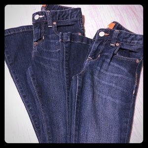 Girls Jean Bundle size 8 slim